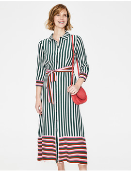 Mallory Midi Shirt Dress by Boden