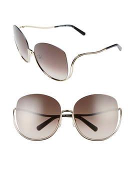 Milla 64mm Oversize Sunglasses by ChloÉ