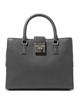Rosalia Textured Leather Tote by Dolce & Gabbana