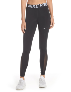 Pro Mesh Logo Tights by Nike