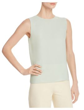 Sleeveless Silk Top by Theory