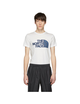 White Denim Logo City T Shirt by The North Face Black Series