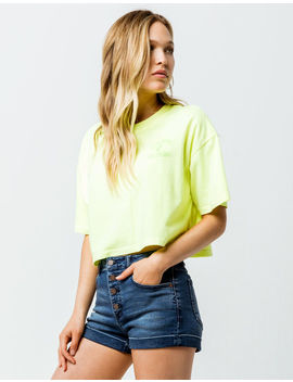 Volcom Neon And On Womens Crop Tee by Volcom