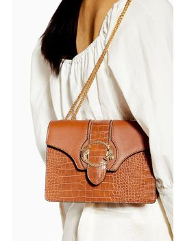Ocean Tan Chain Shoulder Bag by Topshop