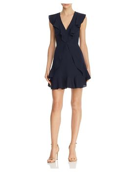 Ruffled Mini Dress   100% Exclusive by Bcbgmaxazria