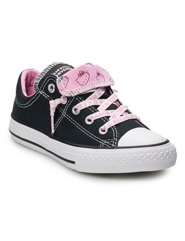 Girls' Converse Hello Kitty® Chuck Taylor All Star Madison Double Tongue Sneakers by Girls' Converse Hello Kitty