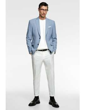 39aa0596 Shoptagr | Textured Weave Suit Pants Collection All Time Man Corner ...