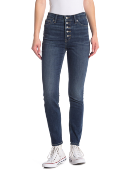 Bridgette Button Fly Skinny Jeans by Lucky Brand