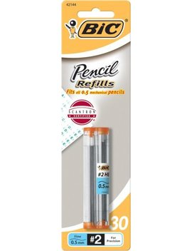 Bic Pencil Lead Refills, Fine Point (0.5mm), 30ct (L530 P1) by Bic