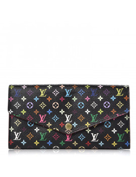 Louis Vuitton Multicolor Sarah Wallet Nm Black Grenade by Louis Vuitton