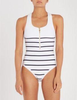 Core Scoop Neck Swimsuit by Heidi Klein