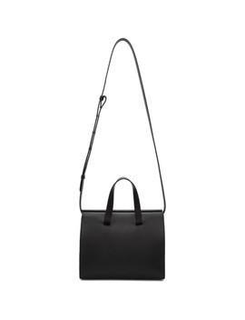 Black Mini Barrel Bag by Aesther Ekme