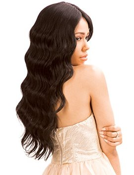 New Born Free Human Hair Blend Lace Front Wig Magic Lace U Shape Lace Wig Mluh94 (Fs1 B/30) by Born Free