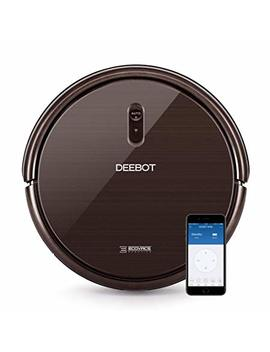 Ecovacs Deebot N79 S Robotic Vacuum Cleaner With Max Power Suction, Up To 120 Min Runtime, Hard Floors And Carpets, Works With Alexa, App Controls, Self Charging, Quiet by Ecovacs