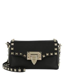 0277d9fea6c9 Shoptagr | Mirage Two Tone Tote Leather Black by Prada