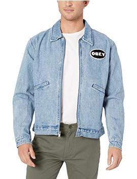 Obey Men's Release Denim Jacket by Obey