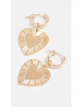The Best Is Yet To Come Huggie Earrings by Brinker &Amp; Eliza