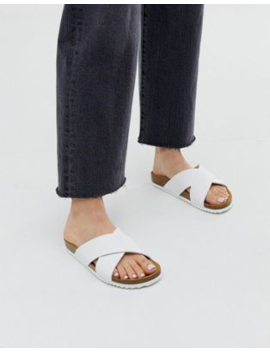 Office Hoxton White Slider Sandals by Office