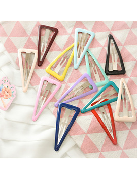 12 Pcs Sweet Diy Bb Hair Clips Popular Style Candy Color Charm Snap Hair Clips Barrettes Lovely Hair Accessories For Women Girls by Ali Express