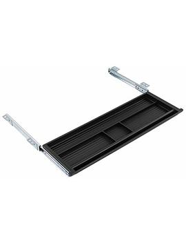 Mount It! Under Desk Pencil Drawer   Slide Out Under Desk Tray For Storage Of Pen, Pencil And Other Office Essentials, 21.2 Inch Wide, Black by Mount It!