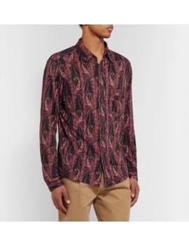 Tilako Linen Jacquard Shirt by Isabel Marant