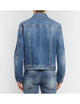 Denim Trucker Jacket by Saint Laurent