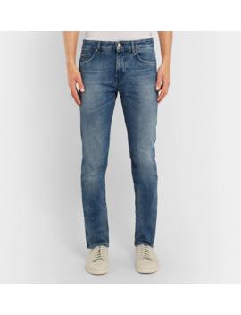 Slim Fit Denim Jeans by Hugo Boss