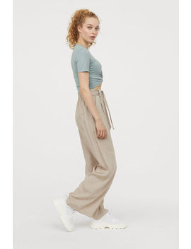 Pull On Bukser I Lyocell by H&M