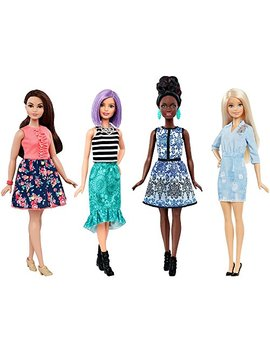 Barbie Fashionistas Dolls 4 Pack by Mattel