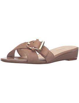 Nine West Women's Tiggy Suede Wedge Sandal by Nine West