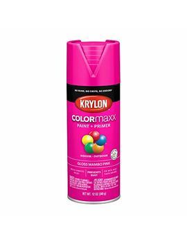 Krylon K05528007 Colo Rmaxx Spray Paint Aerosol Mambo Pink by Krylon