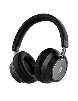Tao Tronics Hybrid Active Noise Cancelling Headphones [2019 New Version] Bluetooth Headphones Over Ear Headphones Headset With Deep Bass, Fast Charge 30 Hour Playtime For Travel Work Tv Pc Cellphone by Tao Tronics