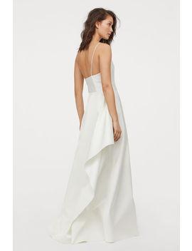 Vestido De Casamento Em Cetim by H&M
