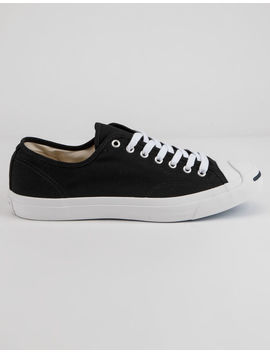 Converse Jack Purcell Cp Ox Black & White Low Top Shoes by Converse