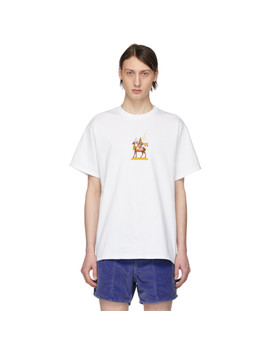 White Wind God T Shirt by Noah Nyc