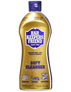 Bar Keepers Friend Soft Cleanser Premixed Formula | 13 Ounces | (2 Pack) by Bar Keepers Friend