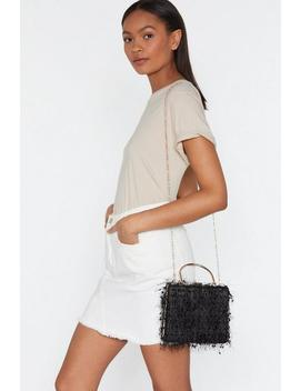Want Fur Baby Structured Box Bag by Nasty Gal
