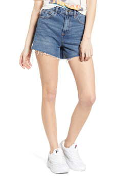 Urban Outfitters High Waist Denim Mom Shorts by Bdg