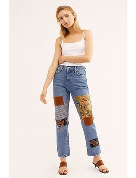 Poppy Patch Jeans by We The Free