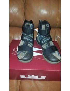 new style b6f7f fdad4 Shoptagr | Nike Lebron Soldier 10 Army Camouflage Camo Men's ...