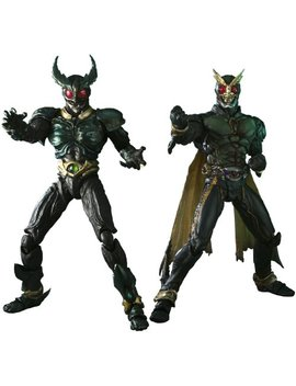 S.I.C. Kamen Rider Gills & Kamen Rider Another Agito (Completed) [Japan] By Bandai by Masked Rider