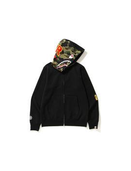 1282f4c4 Shoptagr | Bape 2nd Shark Full Zip Hoodie Black/Camo by Stock X