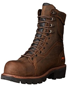 """Timberland Pro Men's Rip Saw 9"""" Waterproof In Comp Toe Br Work Boot by Timberland Pro"""