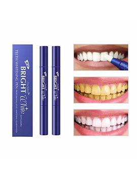 Asa Vea Teeth Whitening Pen (2 Pack), Safe 35% Carbamide Peroxide Gel, 20+ Uses, Effective, Painless, No Sensitivity, Travel Friendly, Easy To Use, Beautiful... by Asa Vea