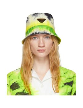 2c3a7e03c0 Green Tie Dye Bucket Hat