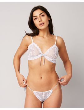 Lucie Sweetie Bralet by Eberjey Journelle Coco De Mer Coco De Mer Journelle Coco De Mer