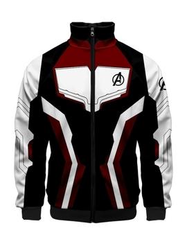 264df3308 Shoptagr | Avengers Endgame Quantum Battle Suit Cosplay Costume Long ...