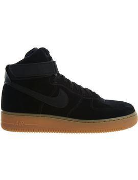 12043914 Shoptagr | Nike Air Force 1 High 07 Lv8 Suede Black/Black Gum Med ...