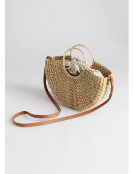 799c81510 Shoptagr | Woven Puka Shell Tote Bag by & Other Stories