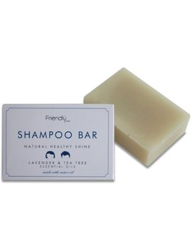 Friendly Soap Natural Shampoo Bar   Lavender & Tea Tree   95g by Ethical Superstore
